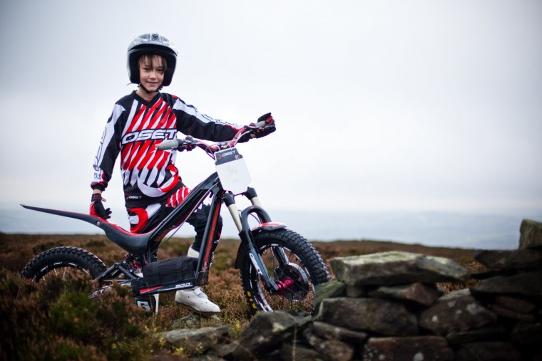Stage moto trial enfant
